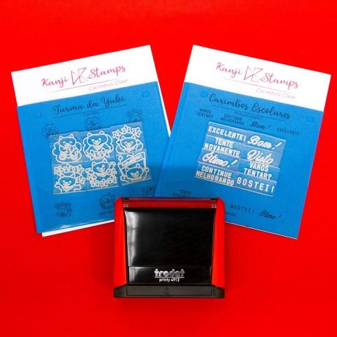 Kit Carimbo para Professores - Kanji Stamps